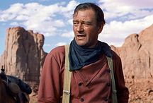 Mostly Western Movies / The films of John Wayne and John Ford a lot of which are Western movies but there's other film genres too.