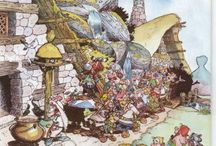 asterix artwork