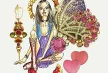Ilustração e Colagem / #fashion #colagem