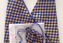 Samskara Impression Bags / Hand crafted, 100% silk bags made from Indian saris