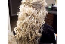 Grad Ideas for Tay! / Hair. Makeup. Dress. Ideas for graduation!