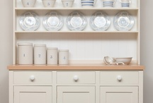 The Wainscot Dresser / The Wainscot kitchen dresser is a timeless design, which would have been prevalent in many country houses. It provides an equal amount of concealed and open storage, with generous sideboard cupboards for stacks of plates and shelving to put your special ceramics on show.