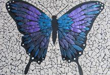Mozaika ze skořápek