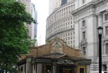 Subway entrances