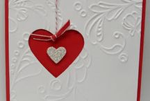 Stampin Up Valentine Cards