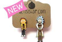 Rick and morty trash