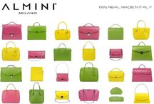 IT'S ALMINI SPRING TIME! / Choose your bag and inject a splash of color in your life!