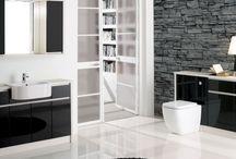 HANDLESS Inca/Milan / Handless Range in Inca or Milan bathroom furniture.