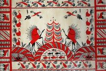 Mezenskaya Folk Art Style / from Mezen river valley, Russia