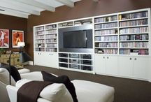 living room & great room ideas / by Lydia Thompson