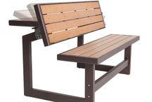 лавочка стол