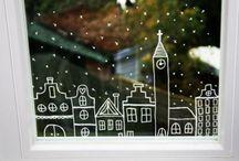 Ablakrajzok Karácsonyra