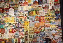 Häuser patchwork