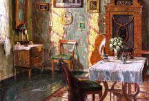 Paintings interior
