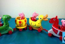 Peppa pig toys / Peppa pig toys play