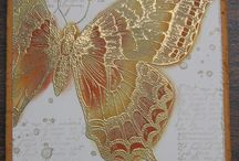 Cards Swallowtail butterfly