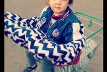 Pokrowiec na wózek sklepowy / pomysłowy produkt dla dzieci