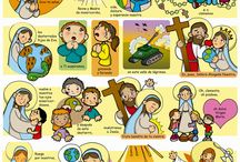 dibujos y frases catequesis
