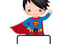 superheroes infantil