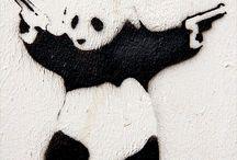 Street art / Banksy