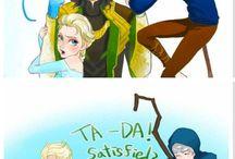 Loki + Elsa