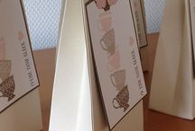 Stampin up boxes / by Liz's Craft Hand Made