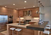 Kitchen / Modern, clean, chic, and playful kitchen