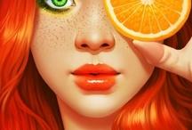 Color Orange | Oranje / Perzik | Amber | Pompoen | Klaproos | Goudsbloem | Terracotta | Mango | Sienna| Mandarijn | Abrikoos