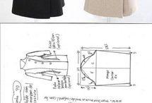 casacos, blazers