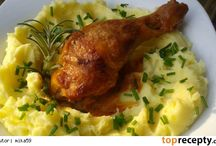 JÍDLO - kuřecí maso  /  chicken