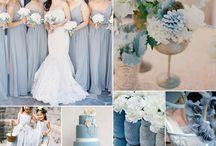 Dusty blue wedding inspiration