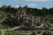 Châteaux Médiévaux Minecraft
