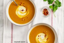 Soups / Carrot and tumeric