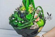 букет овощи и фрукты