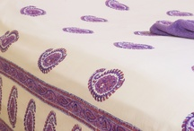 Purple Bedding Sets / Purple Bedding Sets - Paisley bedding - Country Quilts and Bedspreads