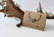 Hunting & Country Wedding Inspiration / Hunting and Country wedding invitation ideas and inspiration