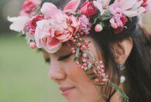 Couronnes florales