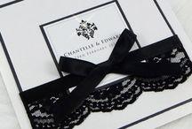 Black & White Wedding Inspiration