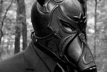 Mask leather
