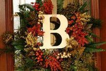 wreaths / by Debby Menges