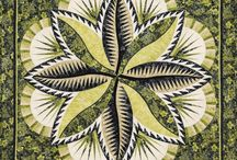 Fire Island Hosta / For more information about the Fire Island Hosta pattern, visit http://www.quiltworx.com/patterns/fire-island-hosta/. To be taken directly back to this pattern page on Quiltworx.com, simply click on any of the images below.  / by Quiltworx Judy Niemeyer