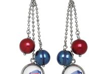Go Bills! Buffalo Bills Jewelry at Ben Garelick Jewelers / Support the Buffalo Bills Wherever You Go Wearing Your Team Colors and Your Heart on Your Sleeve!