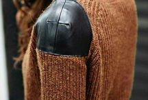 Leather Knits