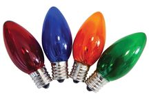 Different Styles in Christmas Light Bulbs