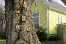 Сказочные дома на деревьях