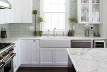 Kitchen Makeover / White Kitchen Inspiration / by Viva Fashion