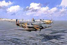 airplane paintings