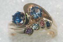 Custom Designed Mothers Rings