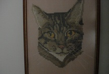 Cross stitching pictures / by Gisela Sedlmayer