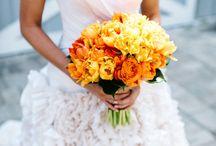 Mariage orange sanguine
